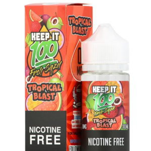 KEEP IT 100 TROPICAL BLAST 70/30 0MG 120ML SHORTFILL