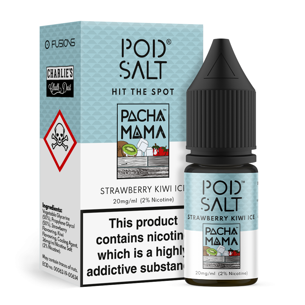 POD SALT FUSIONS STRAWBERRY & KIWI ICE 20MG 10ML
