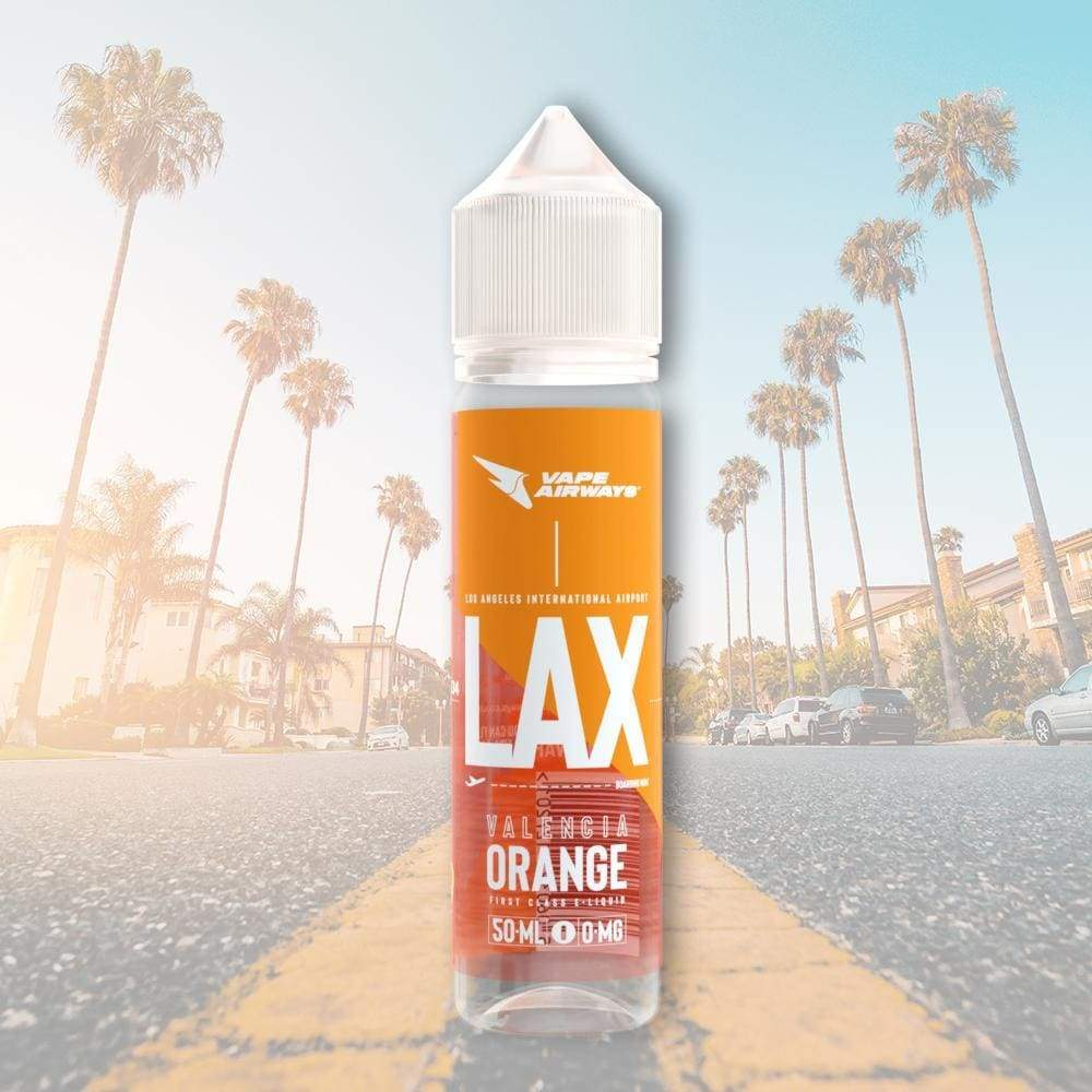 AIRWAYS LAX VALENCIA ORANGE 70/30 0MG 60ML