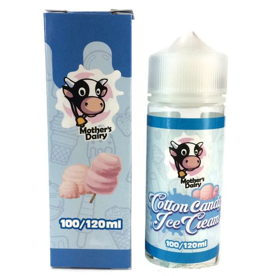 MOTHERS DAIRY COTTON CANDY ICE CREAM 120ML