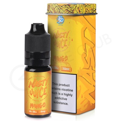 NASTY JUICE MANGO CUSH MAN 50/50 12MG 10ML | Vape Wholesale UK