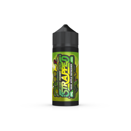 STRAPPED SOUR APPLE REFRESHER 70/30 100ML