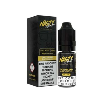 NASTY SALTS GOLD BLEND 50/50 20MG 10ML