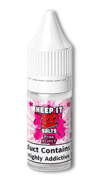KEEP IT 100 SALTS PINK BURST 20MG 10ML