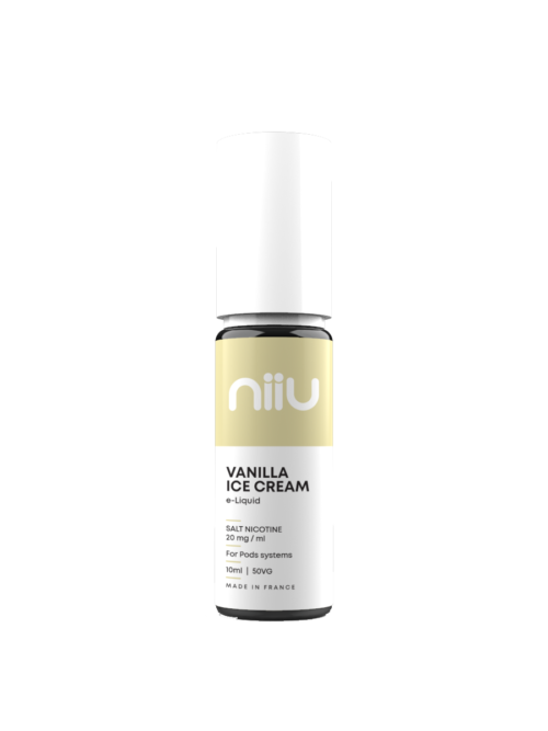 NIIU SALTS VANILLA ICE CREAM 10ML 20MG