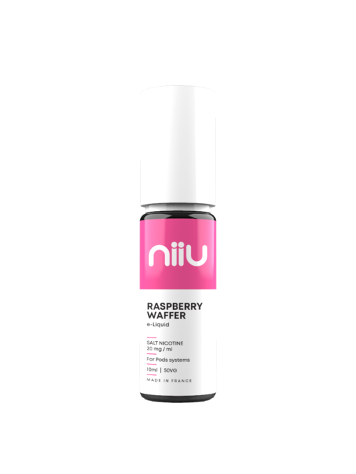NIIU SALTS RASPBERRY WAFER 10ML 20MG