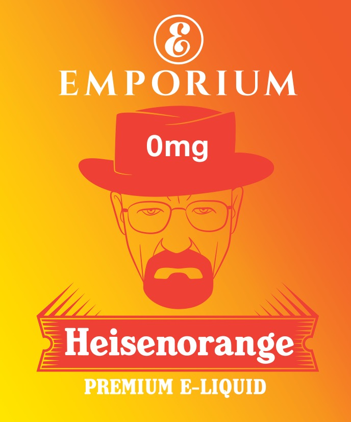 EMPORIUM HEISENORANGE 60/40 0MG 100ML SHORTFILL