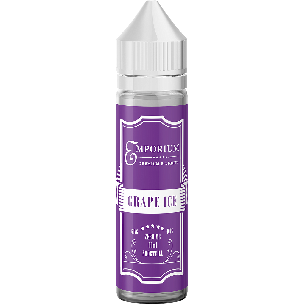 EMPORIUM GRAPE ICE 60/40 0MG 60ML