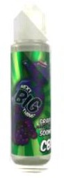 NEXT BIG THING CBD 500MG GRAPE 70/30 60ML SHORTFILL