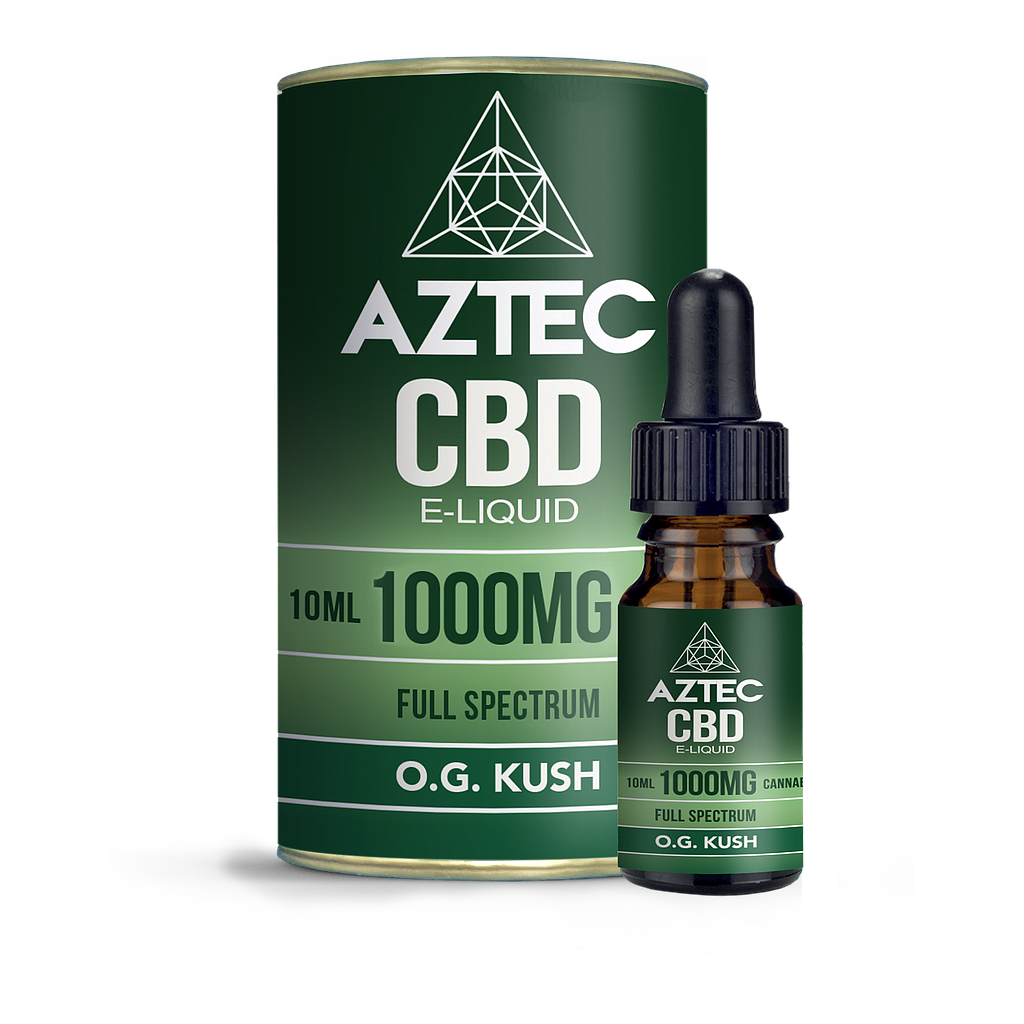 AZTEC CBD O.G. KUSH 1000MG 50/50 10ML