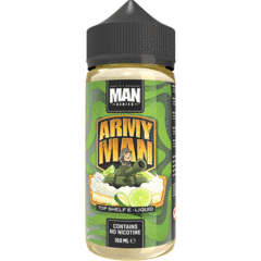 ONE HIT WONDER ARMY MAN 70/30 0MG 100ML SHORTFILL