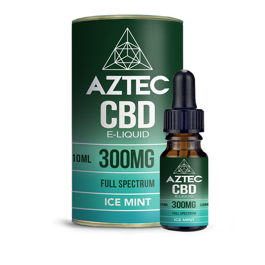 AZTEC CBD ICE MINT 300MG 50/50 10ML