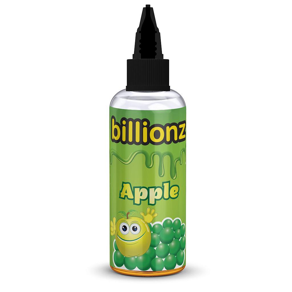BILLIONZ APPLE  60/40 0MG 100ML SHORTFILL